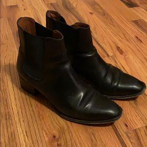 Black Frye Chelsea boots